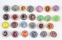 Wholesale High quality Mix Many styles mm Metal Snap Button Charm Rhinestone Styles Button Snaps Jewelry Fit For Bracelet QN