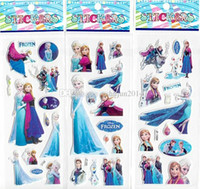 Wholesale Hot Sale Frozen Design Kids Cute Toy Stickers Cartoon Craft Scrapbook Stickers Awards Children s Products Gifts