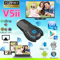 Wholesale Vsmart V5ii Ezcast Smart TV Stick Media Player with function of DLNA Miracast Airplay P support Windows ios andriod