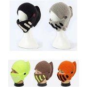 Prezzi Wool hat-Cappelli Inverno spessa lana Cappello romani Cavaliere Cap Cappelli Keeping protezione calda maglia Beanie Skull Caps 20pcs