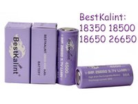 Wholesale Authentic BestKalint IMR battery battery discharge v Top rechargeable batteries lithium battery VS US18650 VTC4