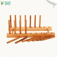 Cheap Wholesale-Bamboo chopping block rack cutting board rack cutting board chopping board rack shelf chopping block rack