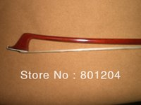 Wholesale Cello bow pernambuco bow stick Ebonyl frog Nickel copper mounted silver color cello bow of SFC950