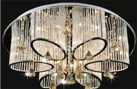 Wholesale New Modern Chandelier ceiling lamp luxury Living Room Ceiling Light With G4 Bulbs Lamp Fixture Crystal Lighting chandeliers