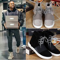Wholesale Kanye West Yeezy Men fashion high top casual sneakers shoes