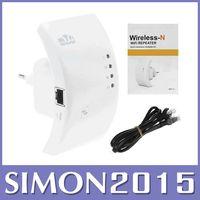 al por mayor buscador de wifi para pc-300Mbps Wireless-N Wi-Fi Buscador repetidor 802.11N Router repeditor Amplificador envío libre 1 PCS