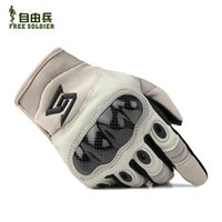 armour glove - Ciclismo Bike Gloves The Basic free Soldiers Outdoor Equipment Armor Tactical Fully Refers To Armour Gloves Leather Pu Fans