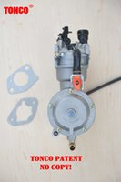 Wholesale dual fuel carburetor with auto choke LPG NG propane conversion kit for gasoline generetor hybrid KW W F