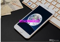 Wholesale Goophone i6 Phones inch i6 Plus inch Android Phone i6s Quad Core Cell Phones G RAM G ROM MTK6582 Mobile Phones