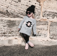fashion autumn sweater - Hug Me Superbb Girls Baby Childrens Sweater Dress New Autumn Winter Fashion Tassels Long Sleeve Coat Outerwear ER