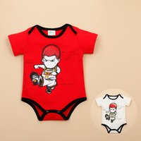 baby dunks - Summer Baby Boy Bodysuits Slam Dunk Basketball Newborn Baby Clothing For M