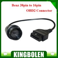 Wholesale Fast Shipping Bzen pin to Pin Adapter Cable bzen obd1 to obd2 Connector cable