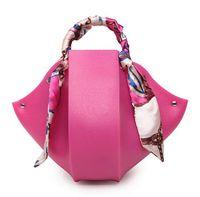 autumn and winter trends - new autumn and winter trend girls bud type jelly bag Brand designer punk women handbag fashion luxury shoulder Ribbon bag