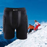 Wholesale WOLFBIKE Outdoor Sports Protective Hip Pad Padded Shorts Ski Skate Snowboarding Skiing Skating Drop Resistance Impact M XL