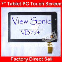 Wholesale 7 quot Capacitive Touch Screen Panel Replacement for ViewSonic VB734 Tablet PC VB734