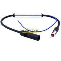 antenna amps - Car Radio Stereo Antenna V FM AM InLine Signal Amp Amplifier Built in Booster Improver Fit for Most of Car