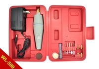 Wholesale WL Mini Dismountable Hand Electric Drill Grinding Machine Grinder Electric Polishing Electronic Drills Engraving Carving tool