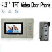 Wholesale Outdoor monitor Delicate inch Video Door Phone intercom doorbell rian cover doorphone
