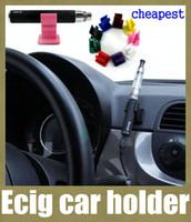 battery holder c - ecig holder e cig car holder ego car holder silicone base vaporizer pen stander for ego c twist vision spinner x6 g5 battery holder FJ047