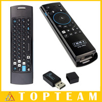 Wholesale NEWEST Fly Air Mouse Mele F10 Wireless Keyboard Remote Control GHz With Mic for Android TV Box Smart TV