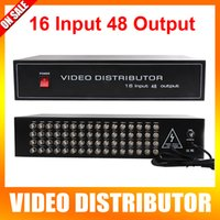 analog inputs - 16 To Ch Analog High Definition Video Splitter HD Video Distributor BNC Input Output Support HD AHD CVI TVI Camera In Out