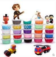 magic sand - 24pcs DIY Enlighten Educational Novelty Indoor Clay D Magic Sand Kinetic Play Sand Clay Children Drawing Toy Christmas Gift