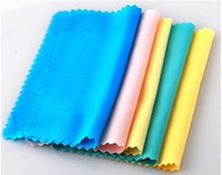 Wholesale Cleaning Clean Cloth For Glasses MICROFIBER CLEANING CLOTH for Lcd Screen Tablet Phone Computer Laptop Glasses Lens LCD LED TV