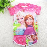 swim shirts - baby girl kids frozen elsa anna Swimwear FROZEN Swimwear frozen bikini frozen swimming suits bathing pc set tops shirt shorts pants