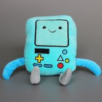adventure pc game - 2015 High Quality Adventure Time Plush Toys Beemo BMO Plush Doll Stuffed Toys CM Children Gift