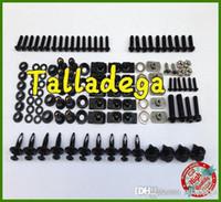 Wholesale Complete Body Fairing Bolts Screw Kit For Honda CBR600F4 CBR F4 H Color Fit All Body Fairing Kit