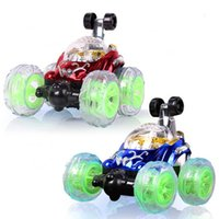 Wholesale Skip Remote Control Car Tumbling Stunt Car Suv Remote Control Car Battery Dynamic Model Car Boy Toys For Children