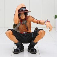 artist action figures - 16CM Anime One Piece King Of Artist Portgas D Ace Boxed PVC Action Figure Collectible Model Toy