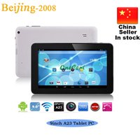 Wholesale 9 quot Allwinner A23 Tablet PC Dual Camera Dual Core T900 N900 Tablet PC Android Bluetooth Ghz MB GB hot sale