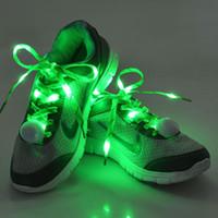 led shoelaces - MJJC Updated Newest LED shoelaces LED Flash Luminous Light Up Glow Strap Shoelace String Party Skating Dance Nylon