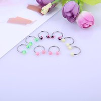 Wholesale Factory Hot and body piercing jewelry horseshoe rings online fake nose ring Valentine s Day present