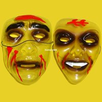 other other Birtyday 2014 new Transparent PVC American Dental devil mask she mask scary zombie scream mask Halloween horror masks free shipping