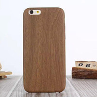 bamboo water - Genuine Natural Wood Wooden Bamboo Hard Back Case Cover For iPhone S plus Samsung S6 S6edge Phone Case Protector