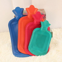 Wholesale Rubber water Filling Bag Hand Warmer Hot Water Bottles one piece size Stylish Winter Essential Home Heater Tools