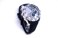 Wholesale 16GB HD P Waterproof Spy Watch Camera with IR Night Vision Hidden Camera
