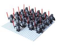 star wars - Star wars darth vader Chubaka sand clone trooper minifigure darth maul Building Block Castle Knight Brick accessory WOMA Sluban Decool