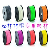 Wholesale 2015 colorful useful Colors m Filament PLA ABS filament mm for D Printer pen Printing Pen Healthy printing supplies