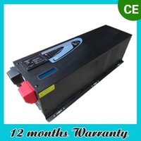 solar inverter - 6000w Max w Pure Sine Wave Inverter With Charger A Solar Inverter DC V AC V V V Remote Control