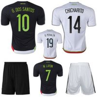 Wholesale Discount Mexico Soccer Jerseys Chandal Mexico Jersey Football Shirt shorts Chicharito Soccer uniforms Set