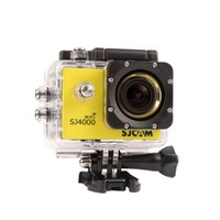 Wholesale Full HD GoPro SJ4000 P MP Car Cam Sports DV Action Waterproof Camera Camcorder Gopro Style Novatek