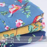 Zakka Algodão Linho Para Handmade Hometextile tecidos de pano para o sofá da cortina Bolsas Cushion Móveis tampa do medidor 100x145cm