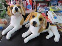 beagle gifts - stuffed animal cm simulation lying beagle dog plush toy doll great gift w462