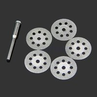 Wholesale Mini Sharp Rotary Diamond Cutting Discs Disks Dremel Tools With A Rod mm