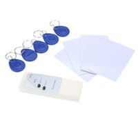 Wholesale Door Access Control RFID Khz Handheld Smart ID Card Reader Copier Writer Duplicator Writable Cards Key Fob A5