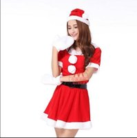 adult child - Christmas clothing Christmas revels adult children show clothing red Santa pants Sexy in clothing