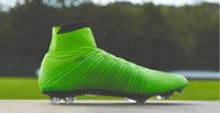 Wholesale World Cup Magista Soccer Shoes Magista High ankle For Football Boots Outdoor Mens Football Shoes Soccer Cleats Green dhl freeshipping